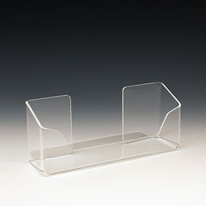 Acrylic Brochure Holder ABH-8302 for Brochures or Pamphlets up to 6.25 inches wide